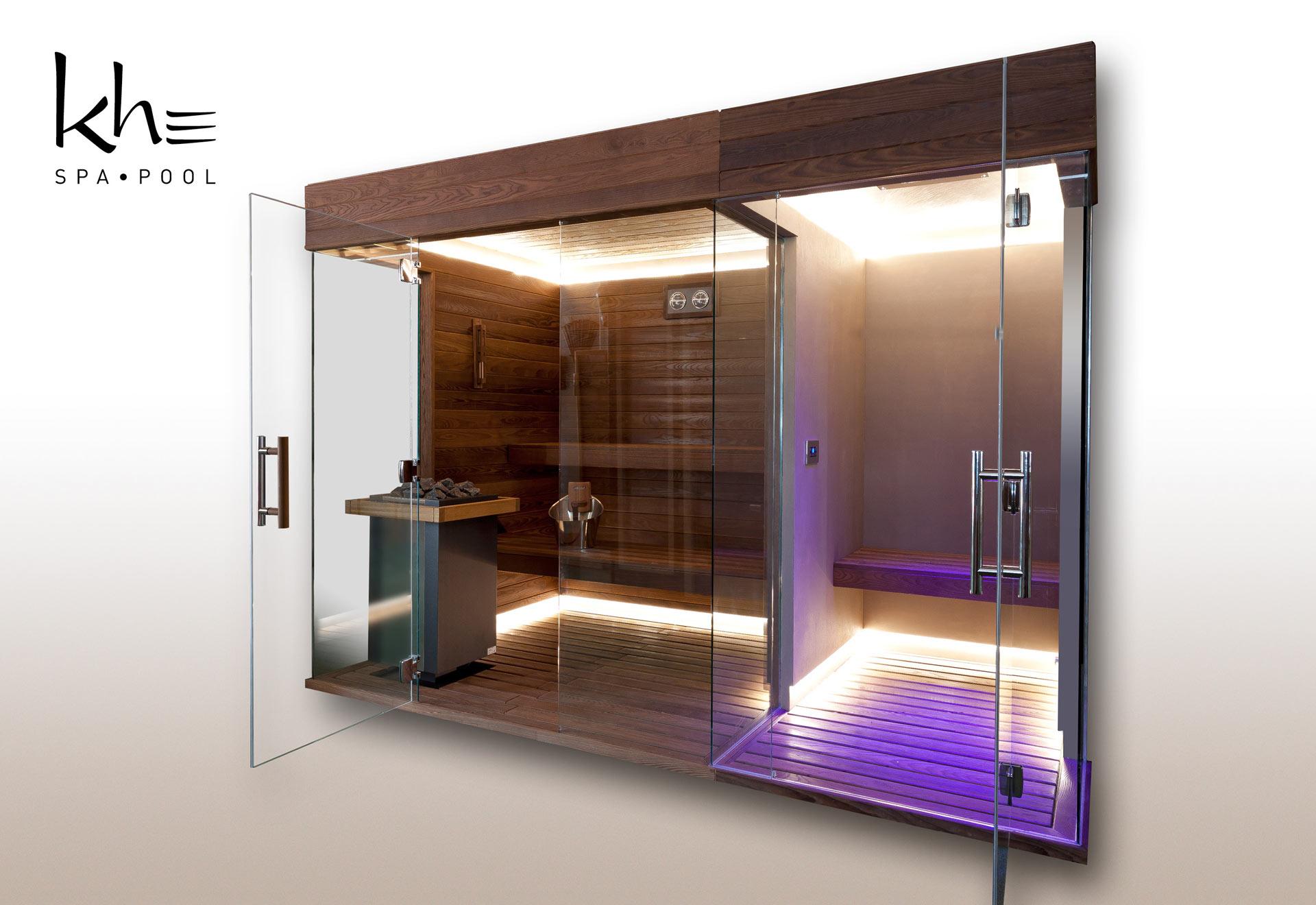 sauna, cabina, bagno turco